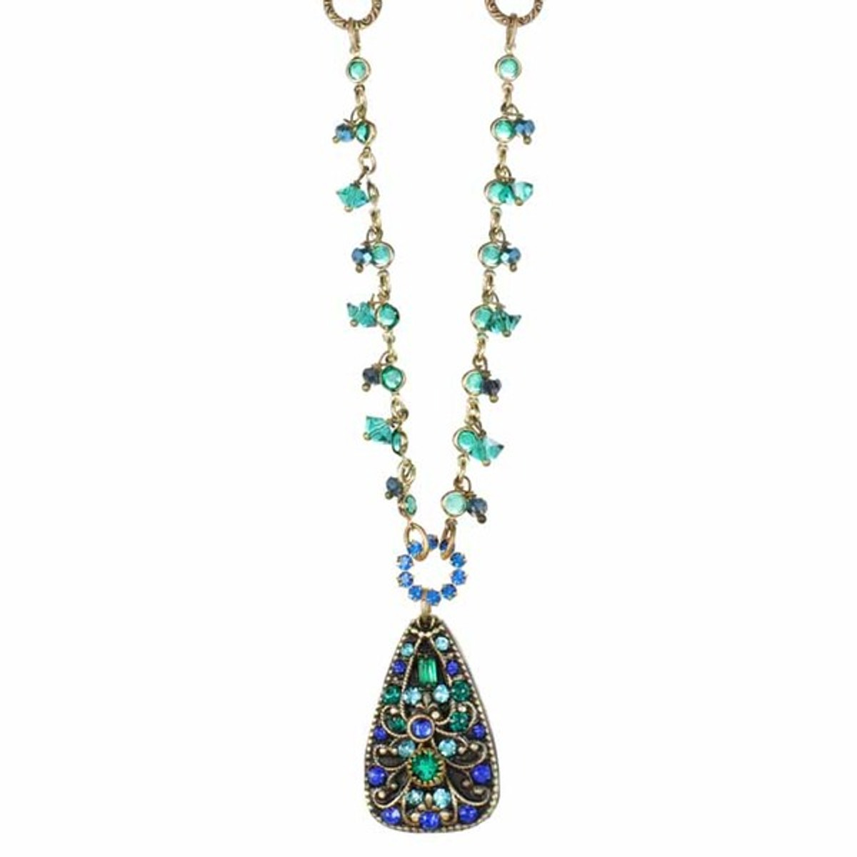 Peacock Necklace From Michal Golan Jewelry
