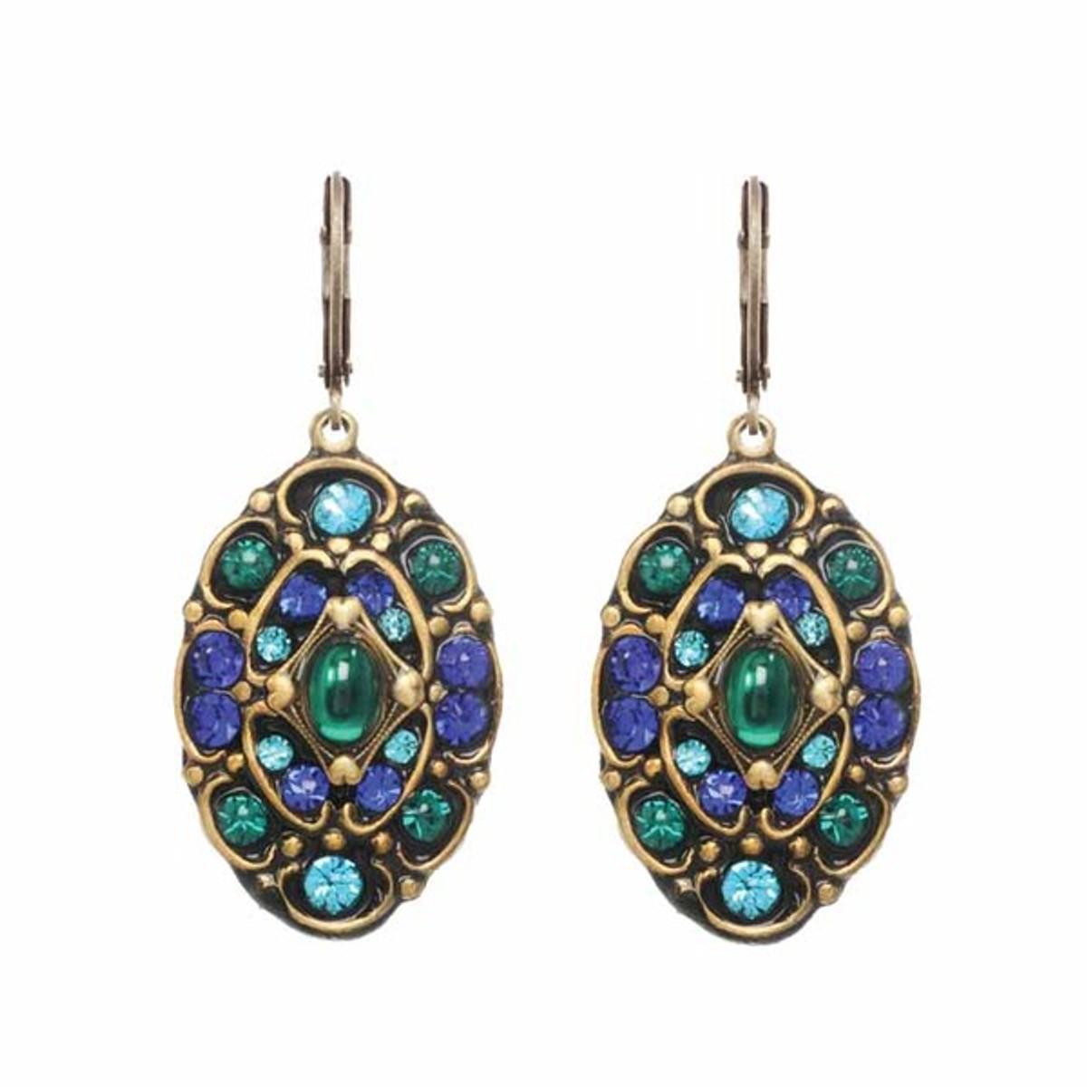 Michal Golan Jewelry Peacocks Earrings