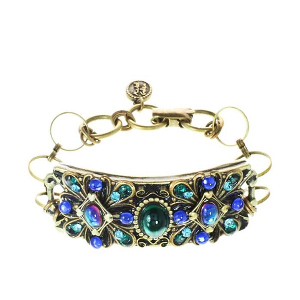Peacock Bracelet From Michal Golan Jewelry
