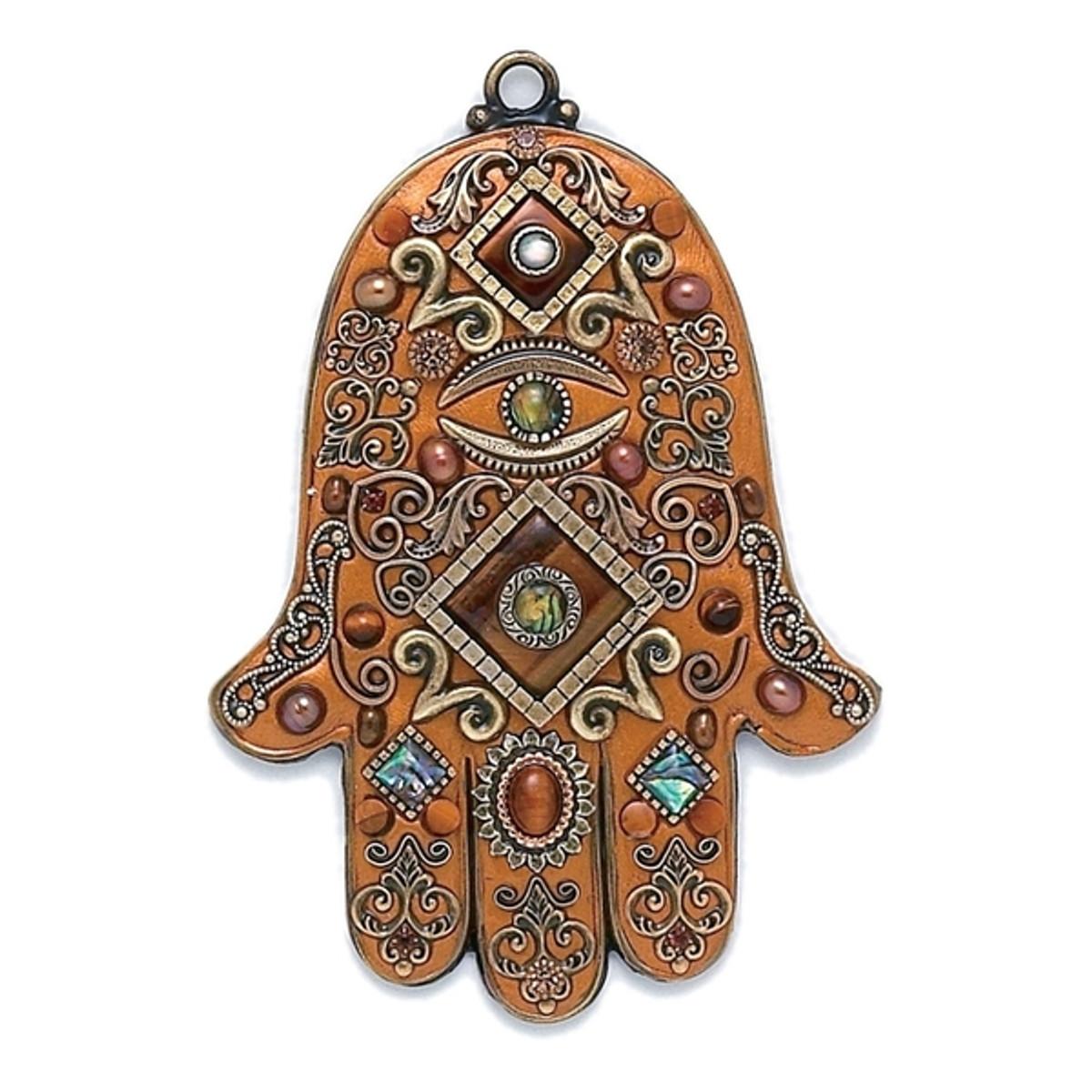 Evil Eye Wall Hamsa By Michal Golan Jewelry