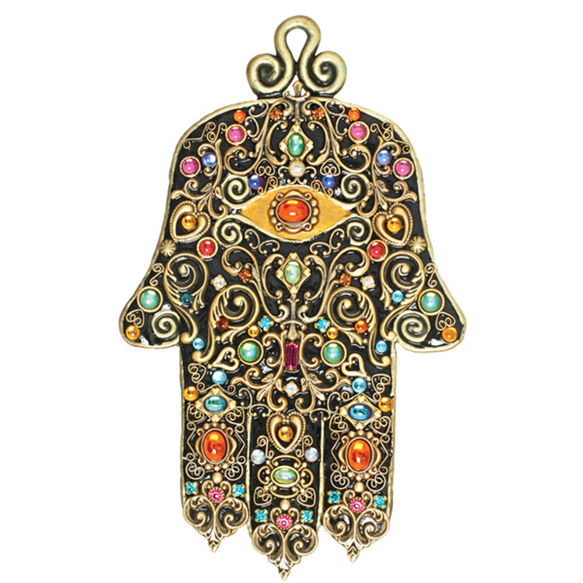Evil Eye Wall Hamsa From Michal Golan Jewelry
