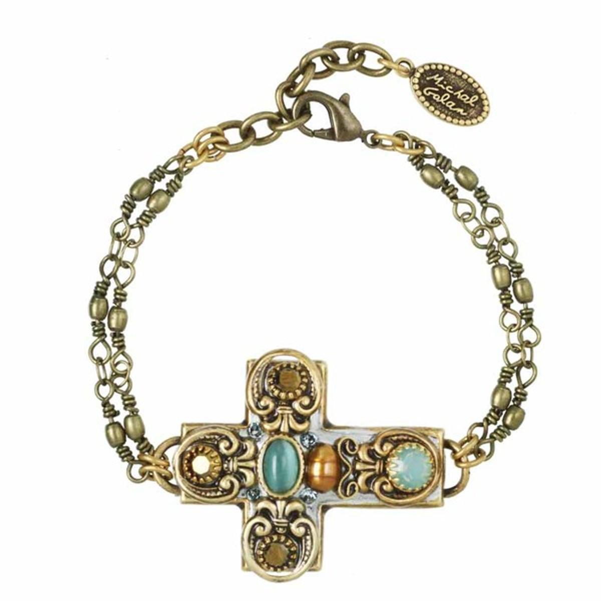 Michal Golan Cross Bracelet