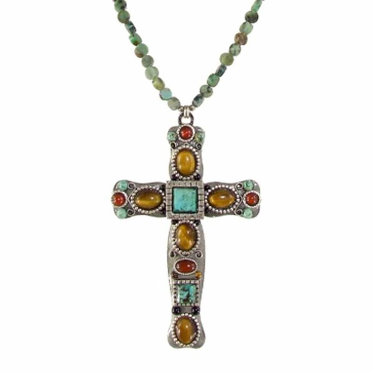 Large Michal Golan Cross Necklace