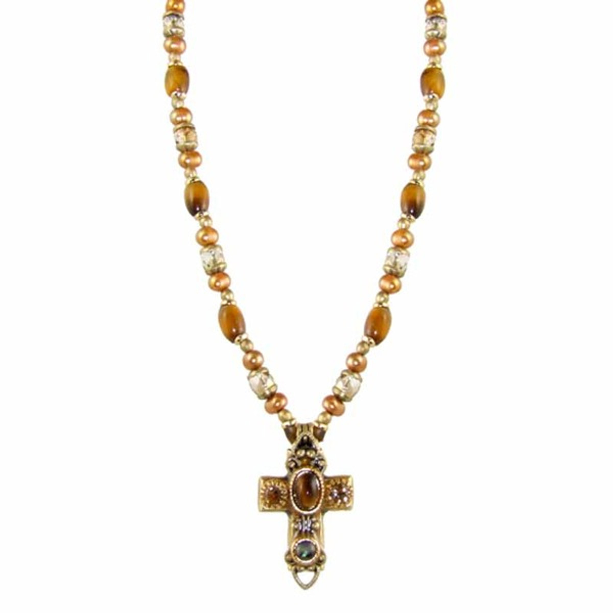 Michal Golan Small Cross Necklace