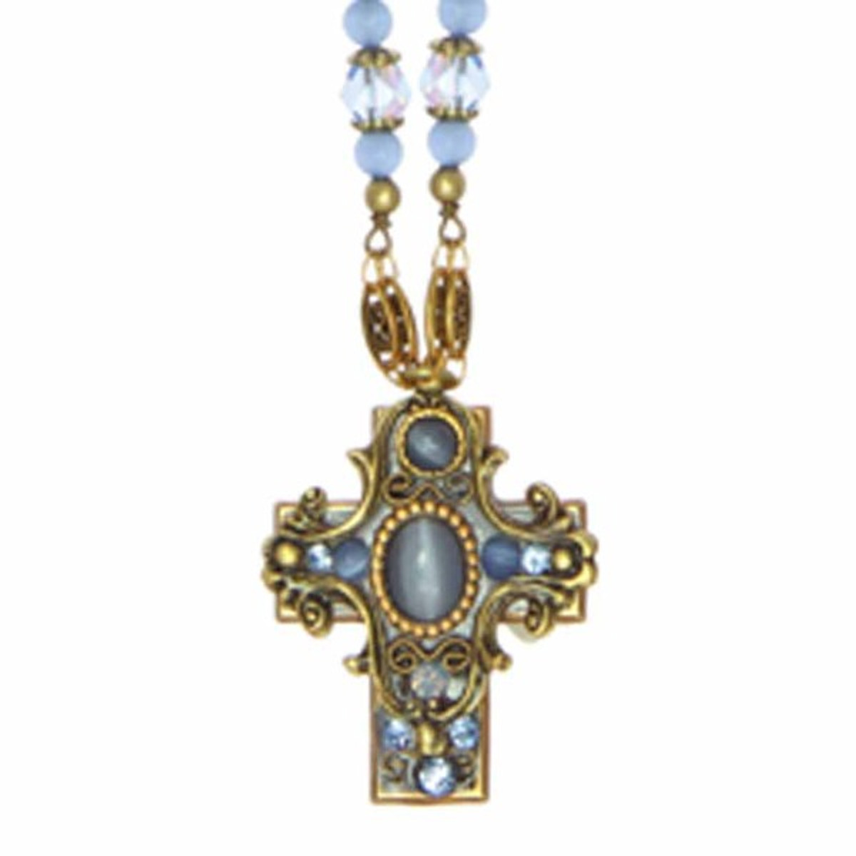 Michal Golan Small Silver Necklace Cross