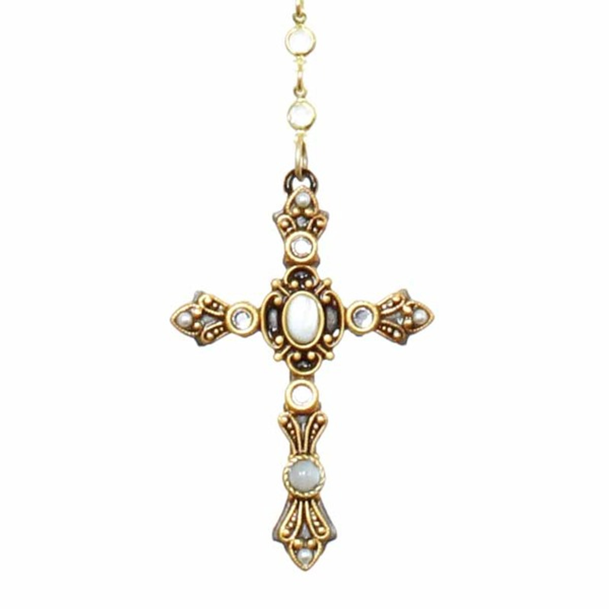 Michal Golan Jewelry Cross Necklace