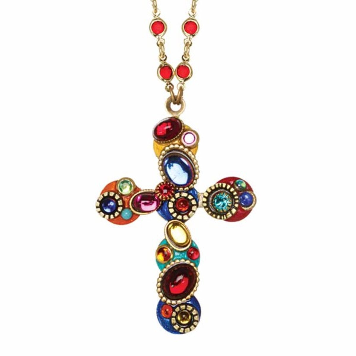 Michal Golan Cross Necklace