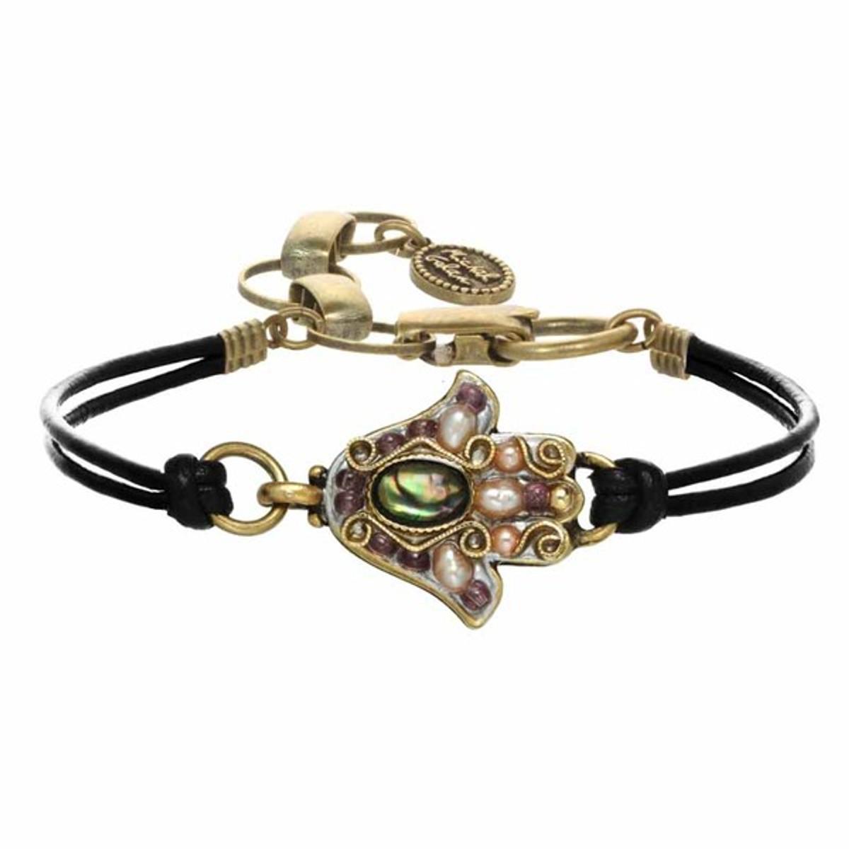 Michal Golan Small Silver Hamsa Bracelet