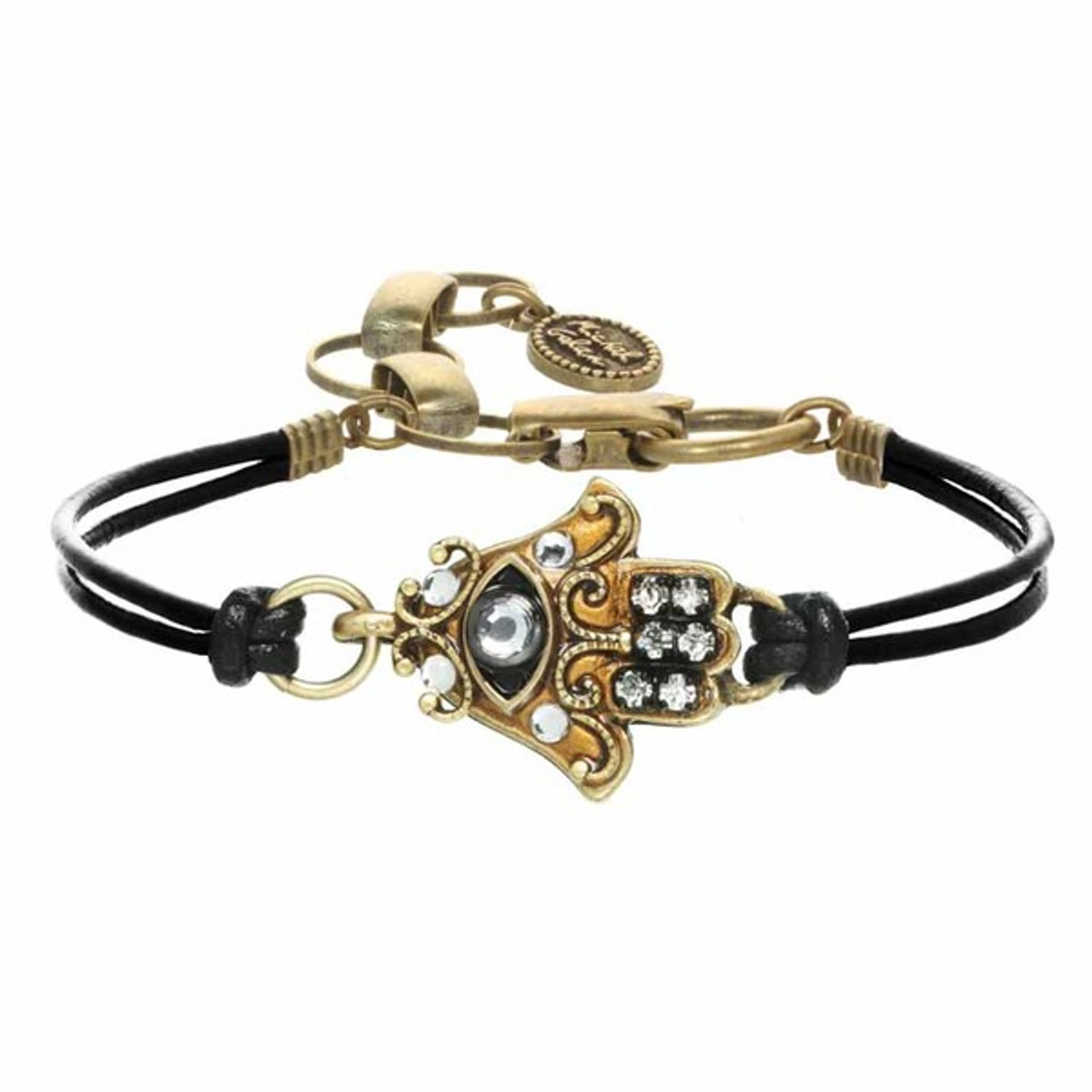 Gold Hamsa Bracelet By Michal Golan