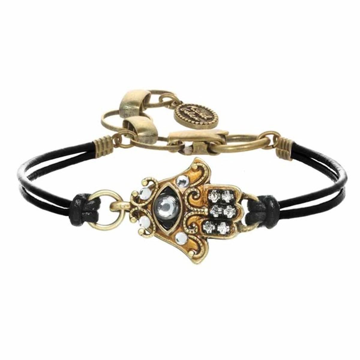Gold Hamsa Bracelet By Michal Golan