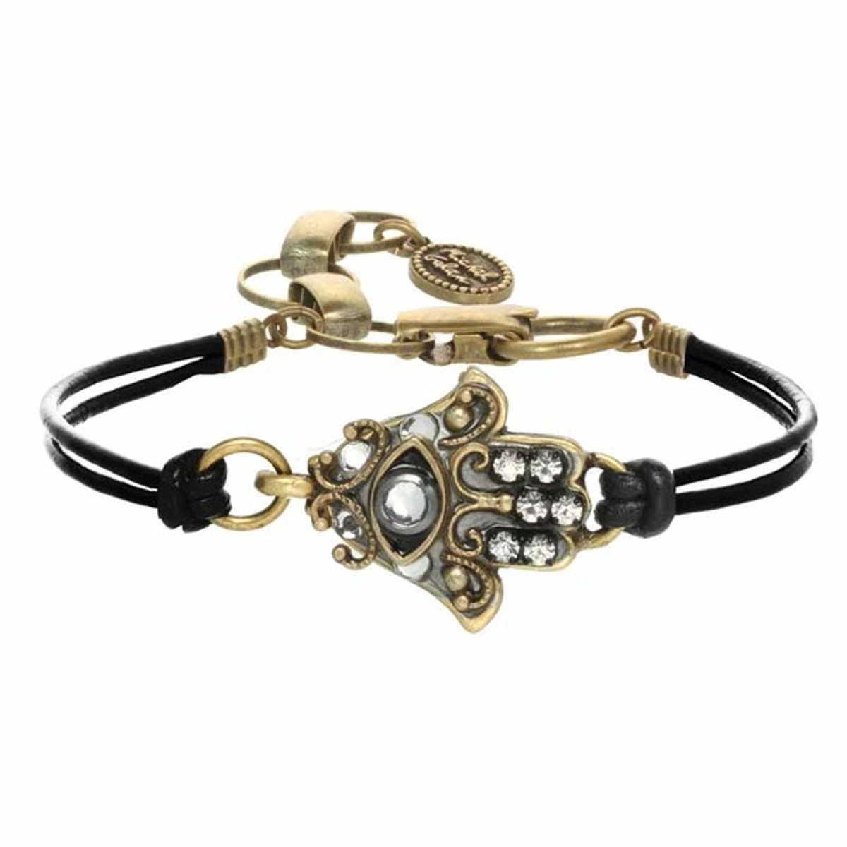 Michal Golan Small Gray Hamsa Bracelet