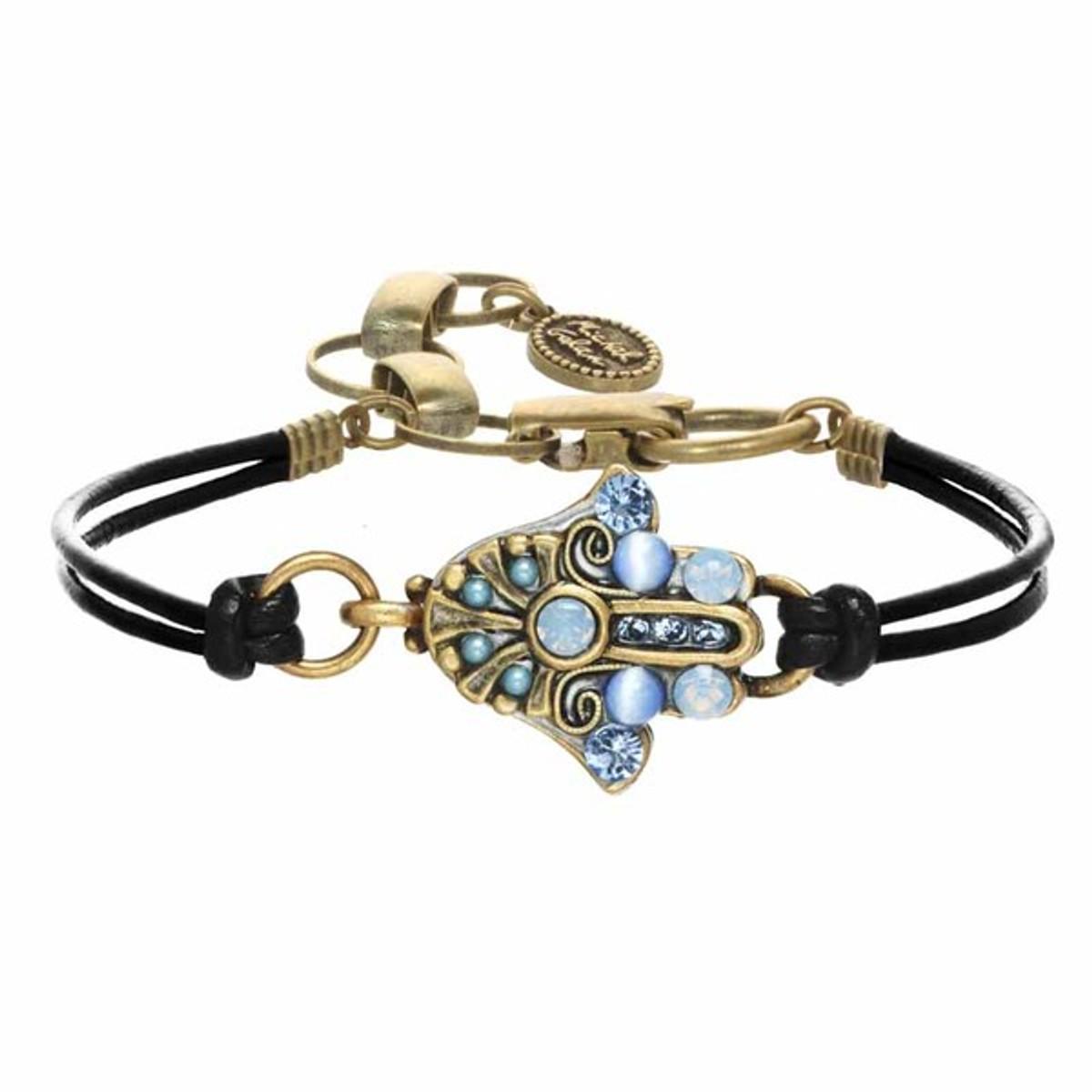 Michal Golan Cat Eye Bracelet Hamsa