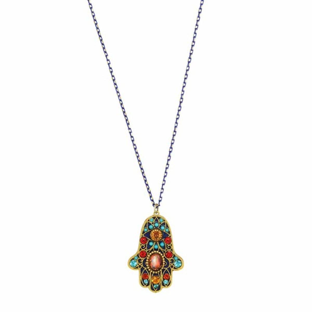 Single Chain Multicolor Hamsa