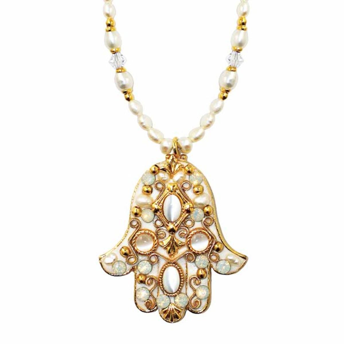 Michal Golan Jewelry Hamsa Necklace