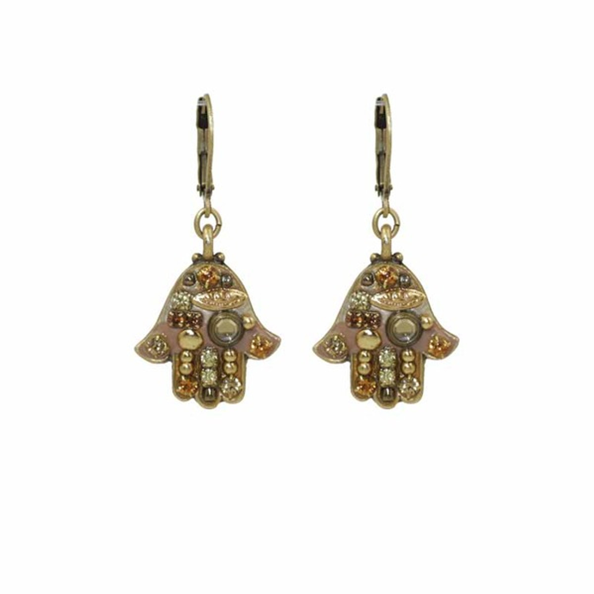 Michal Golan Jewelry Hamsa Earrings