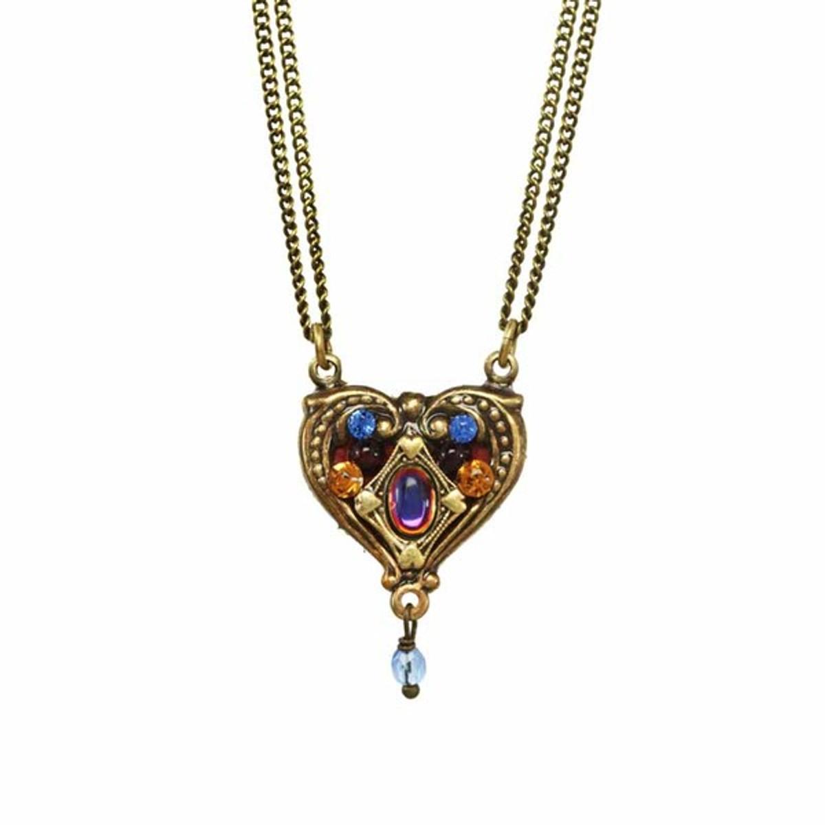 Golan Michal Jewellery Heart Necklace