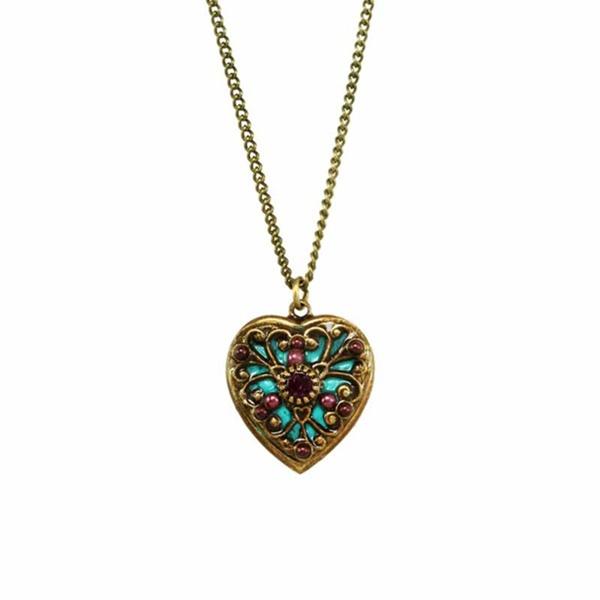 Heart necklaces from Michal Golan Jewelry