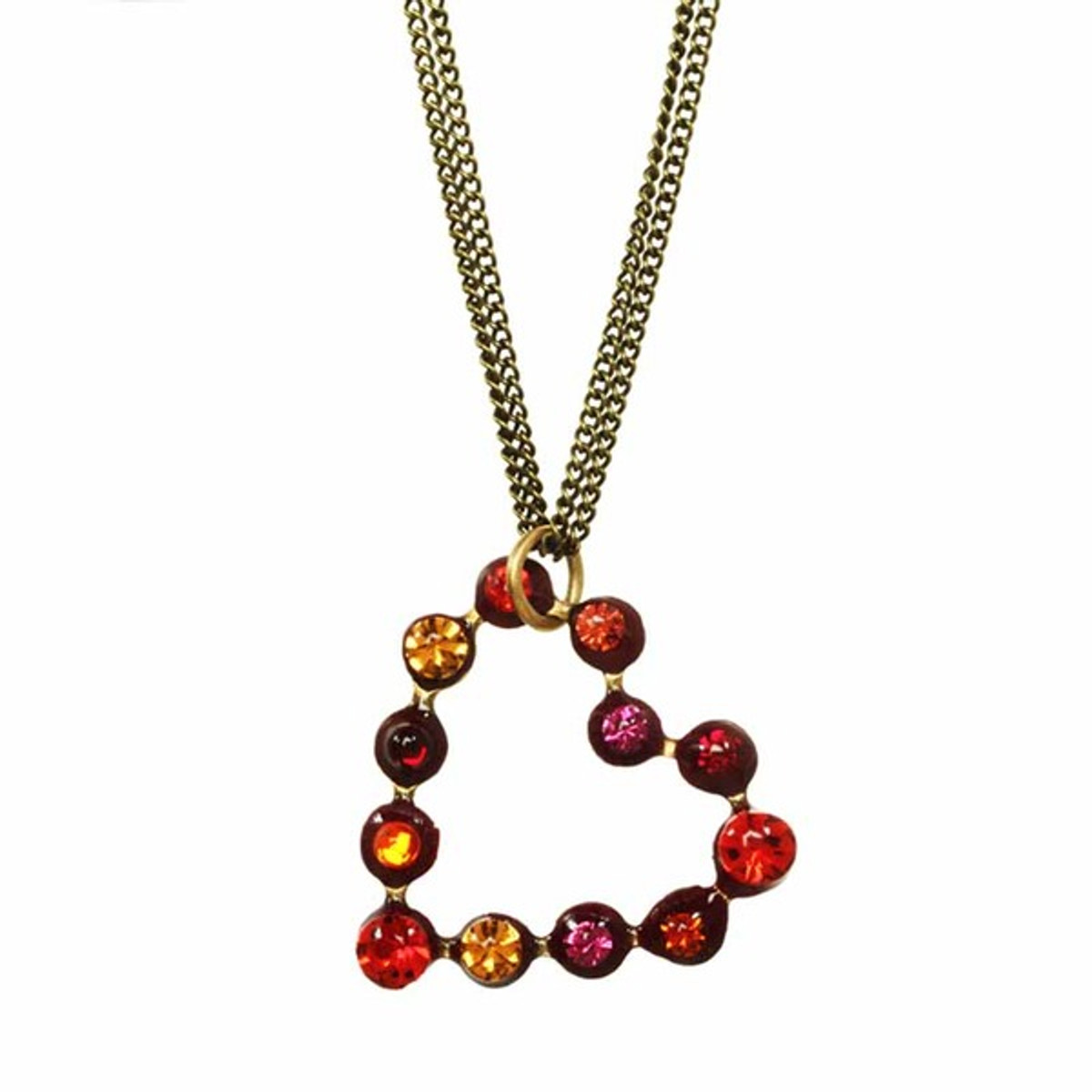 Michal Golan Jewelry Heart Necklace