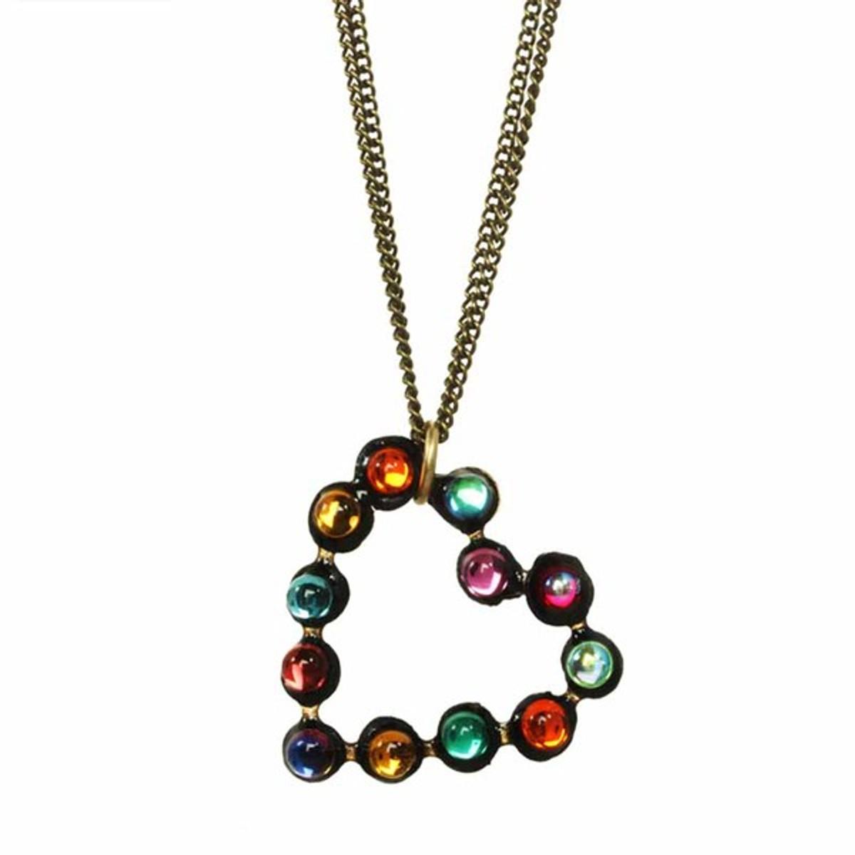 Michal Golan Jewellery Heart Necklace