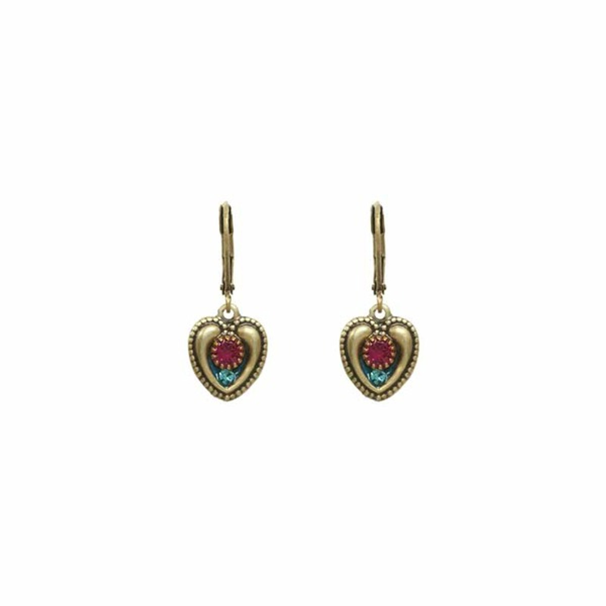 Michal Golan Heart Earrings