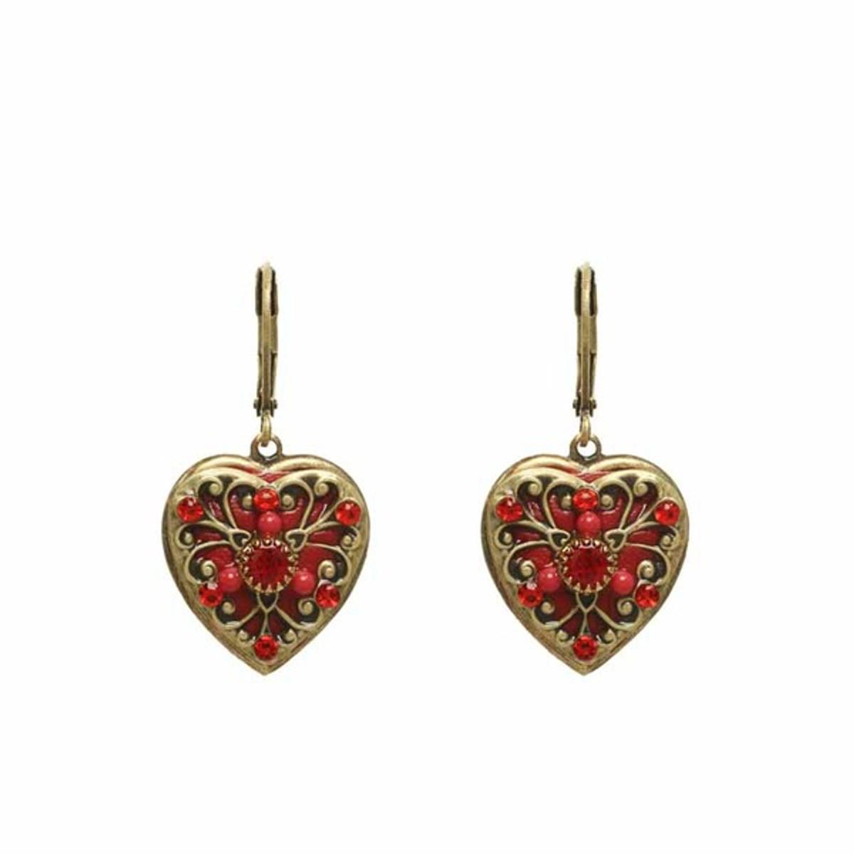 Heart earrings by Michal Golan Jewelry