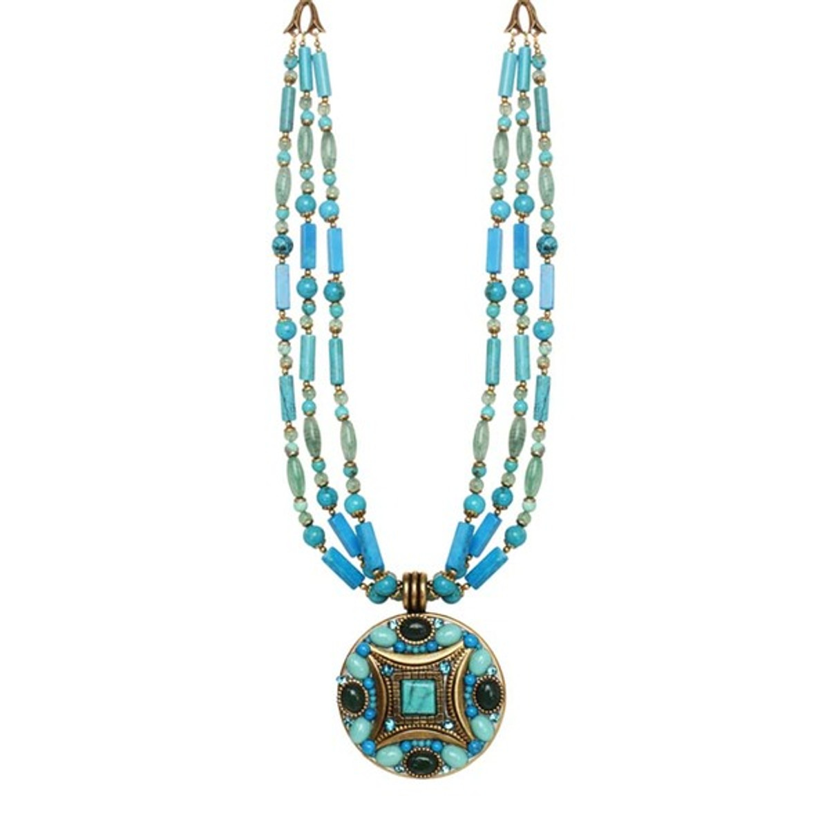 Michal Golan Turquoise Nile Necklace
