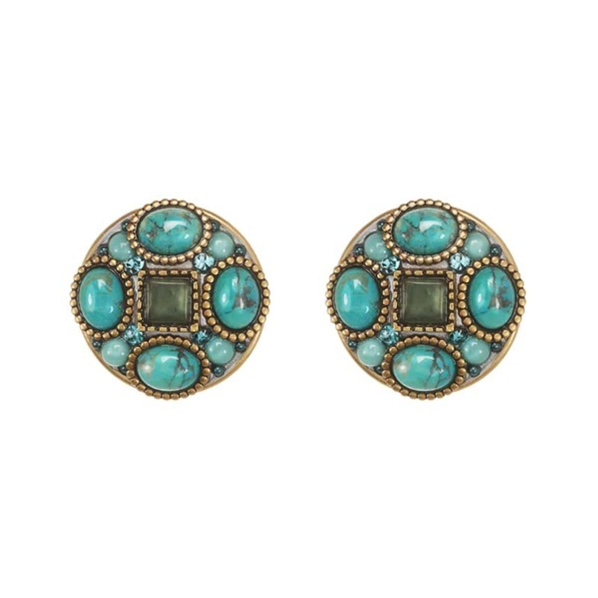 Michal Golan Earring Nile - Turquoise