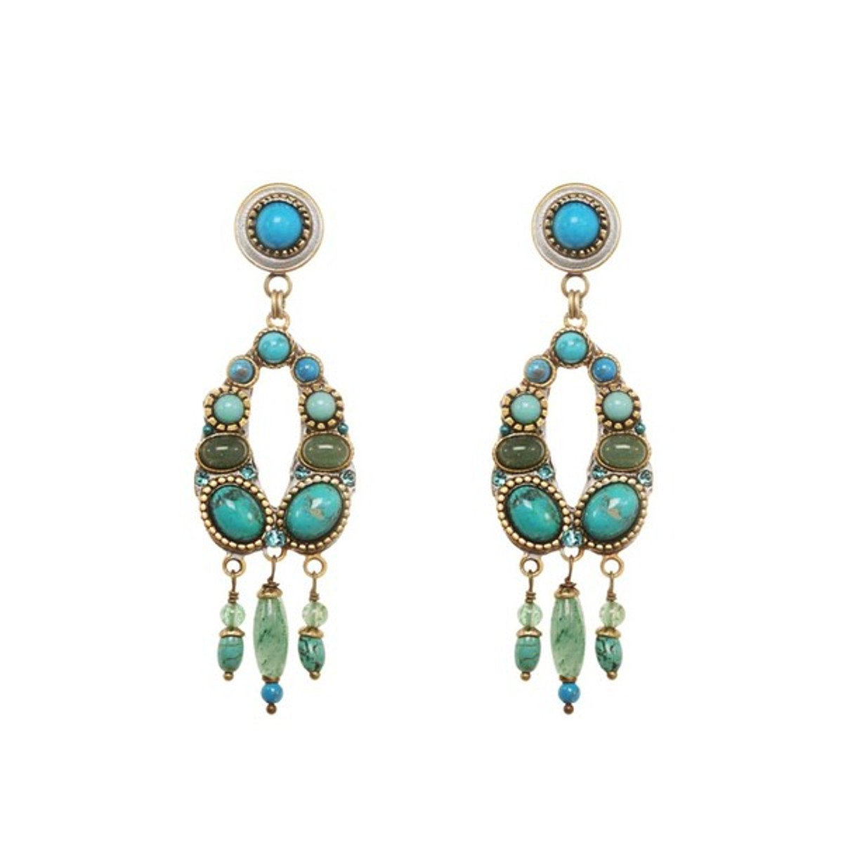 Turquoise Michal Golan - Nile Earrings