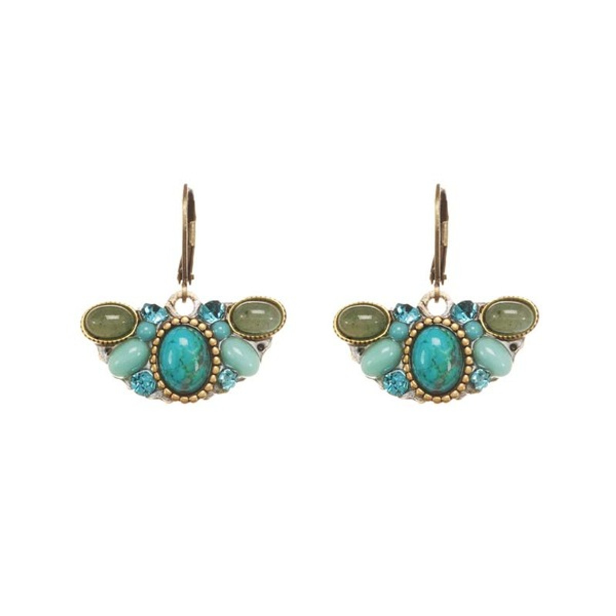 Nile style earrings by Michal Golan Jewelry