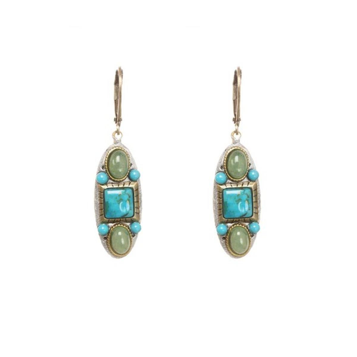 Michal Golan Earrings Nile Turquoise