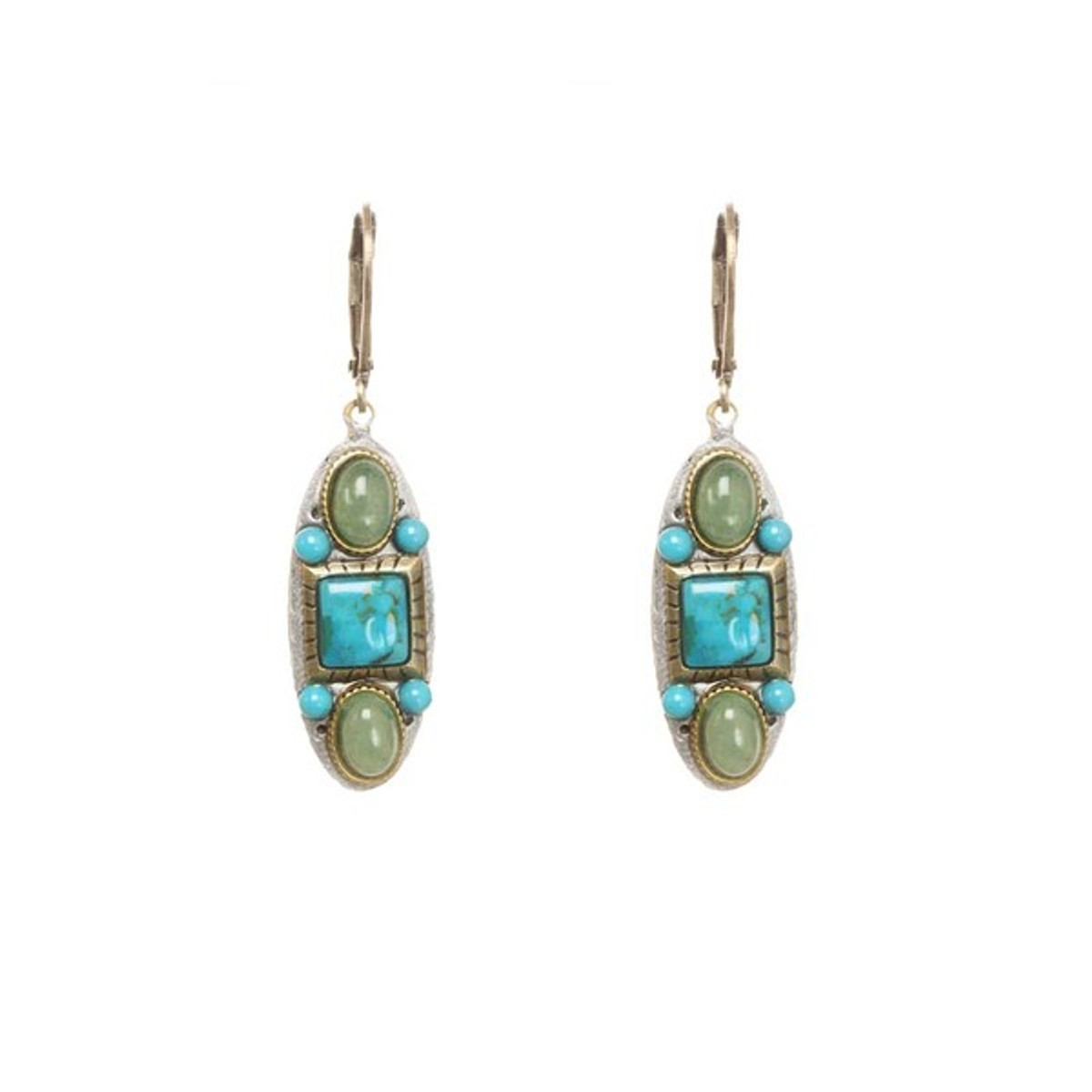 Michal Golan Earrings Nile Turquoise