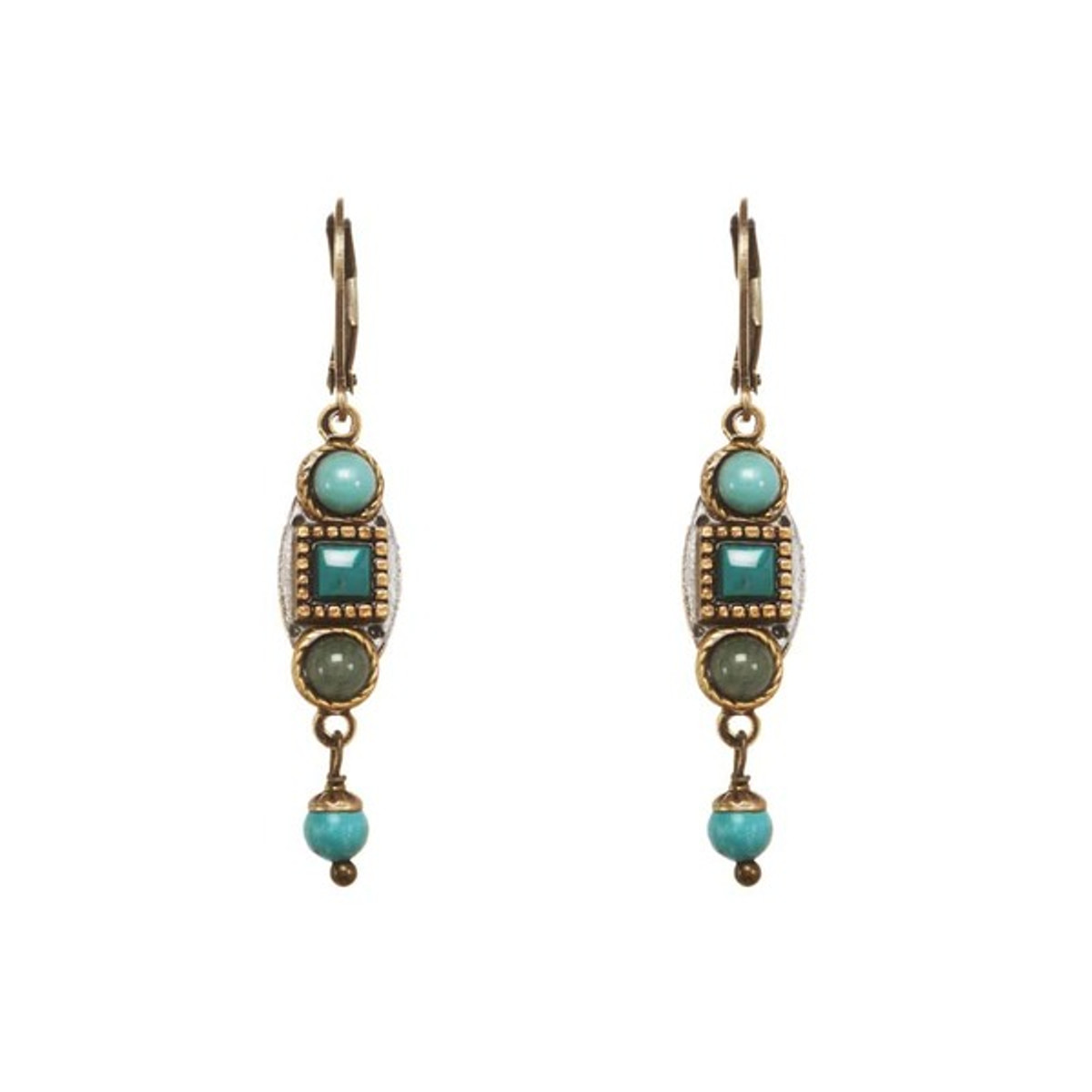 Michal Golan Nile Earrings Turquoise