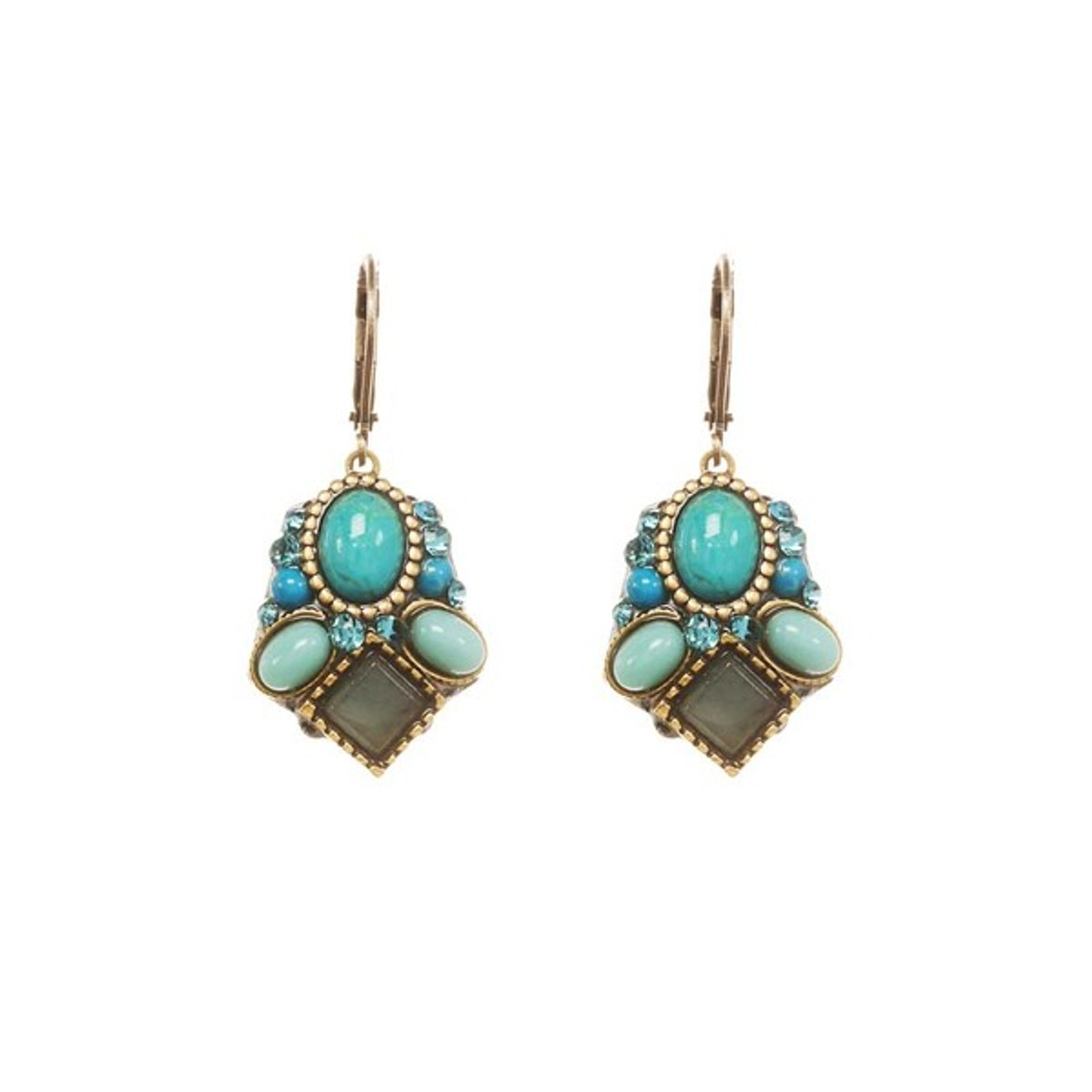 Turquoise Michal Golan Nile Earrings