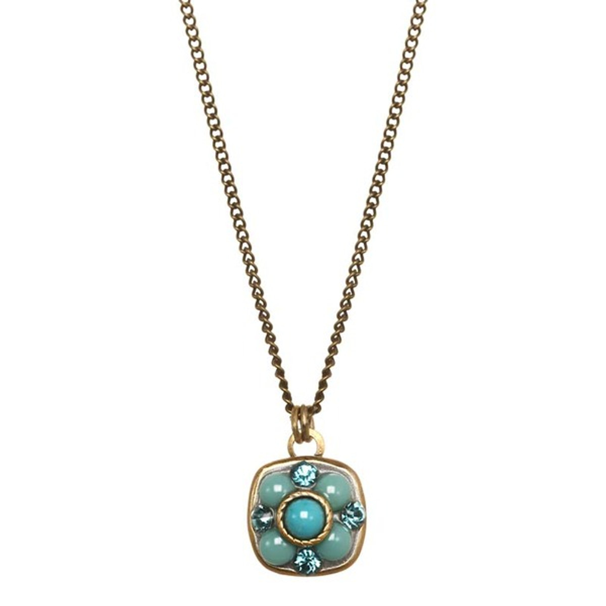 Michal Golan Nile Necklace Turquoise