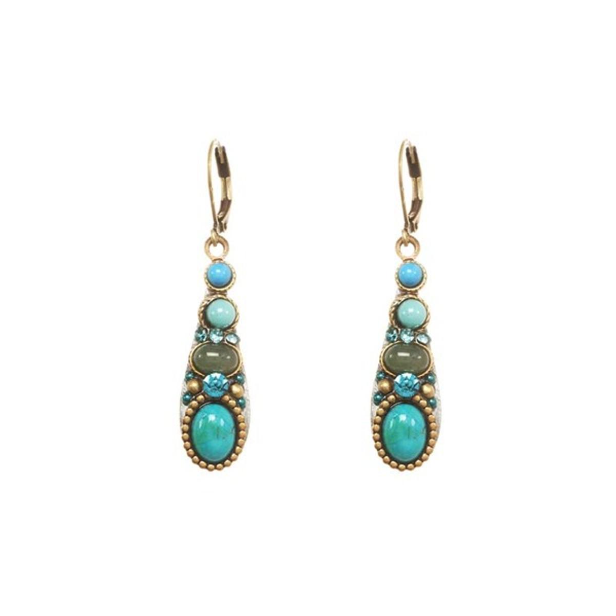 Michal Golan Turquoise Nile Earrings