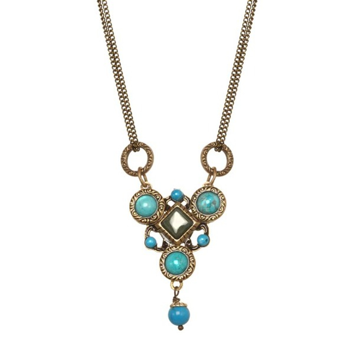 Turquoise Nile Necklace by Michal Golan