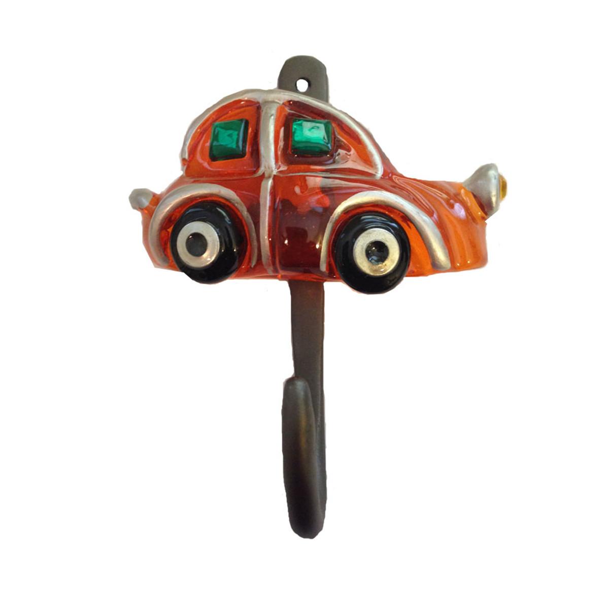 Orna Lalo Orange Car Wall Hook
