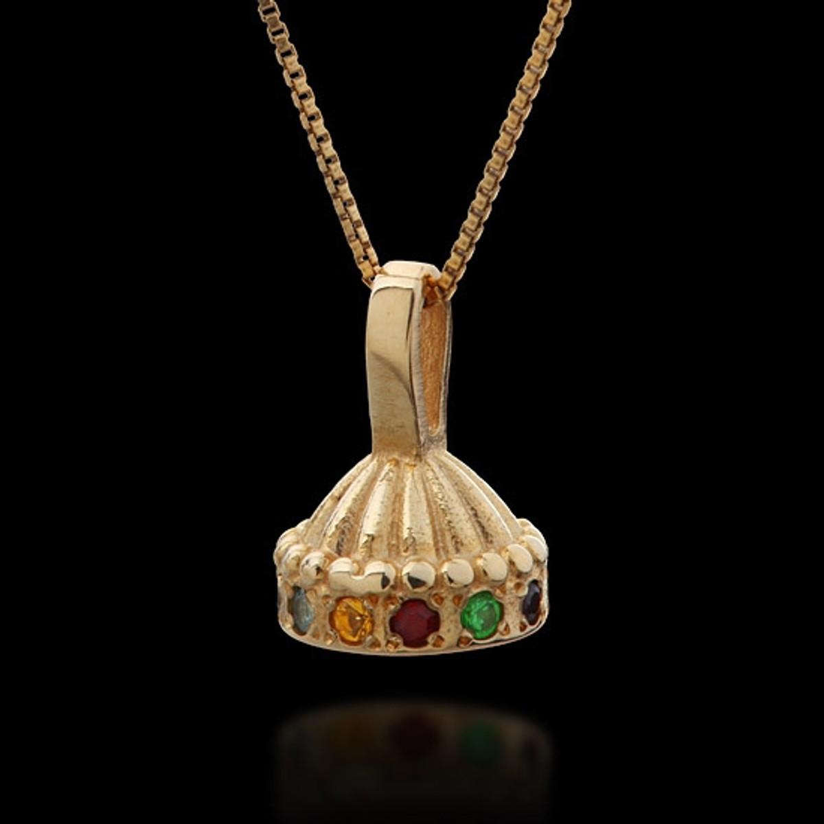 Haari Kabbalah Hoshen Crown Pendant