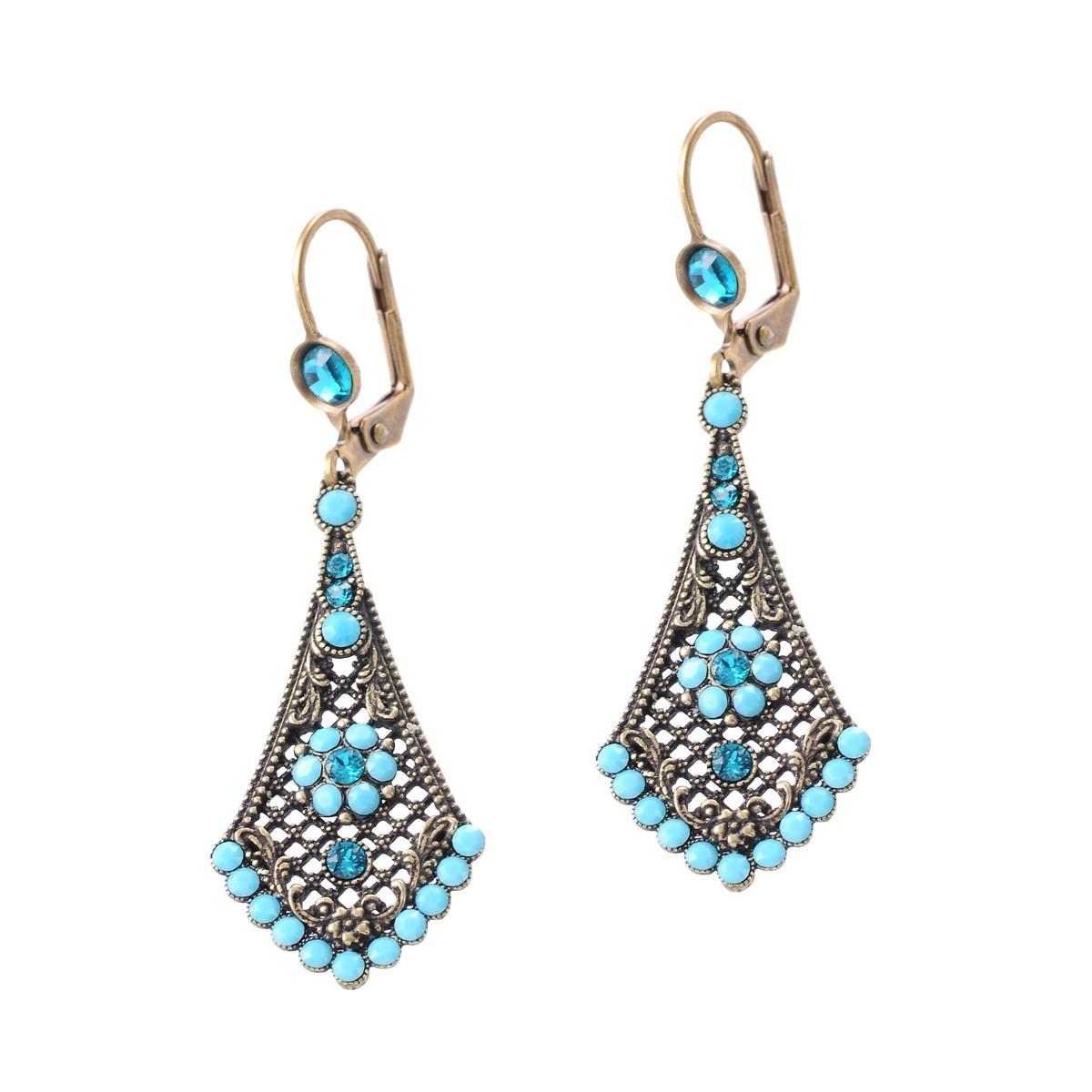Michal Negrin Blue Beauty Earrings