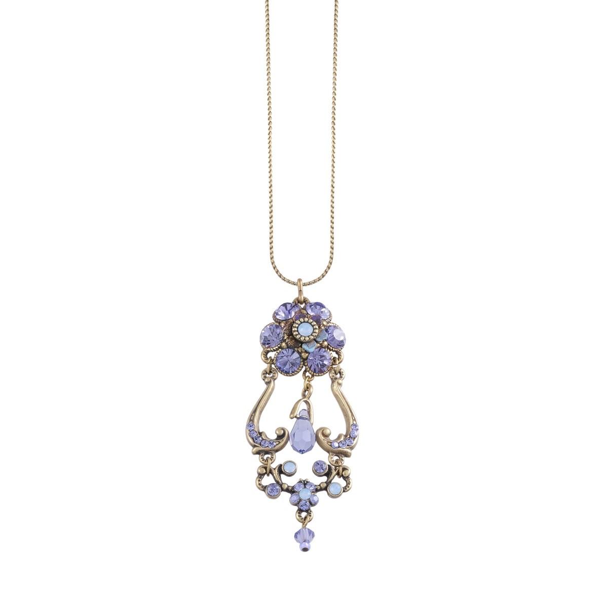 Michal Negrin Purple Passion Necklace