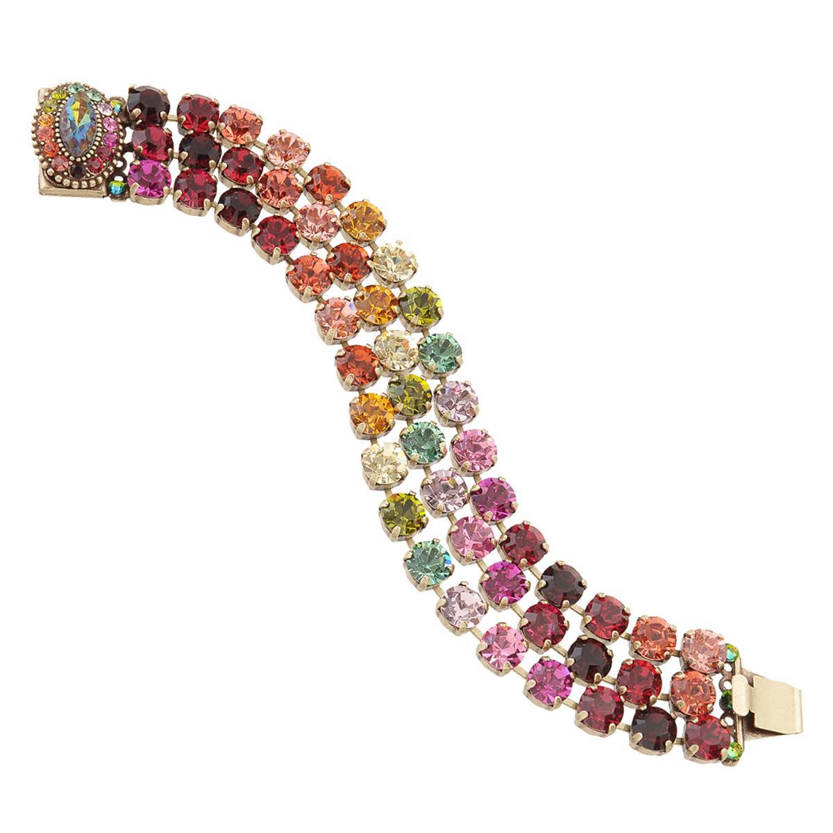 Michal Negrin Color Spectrum Bracelet - Multi Color