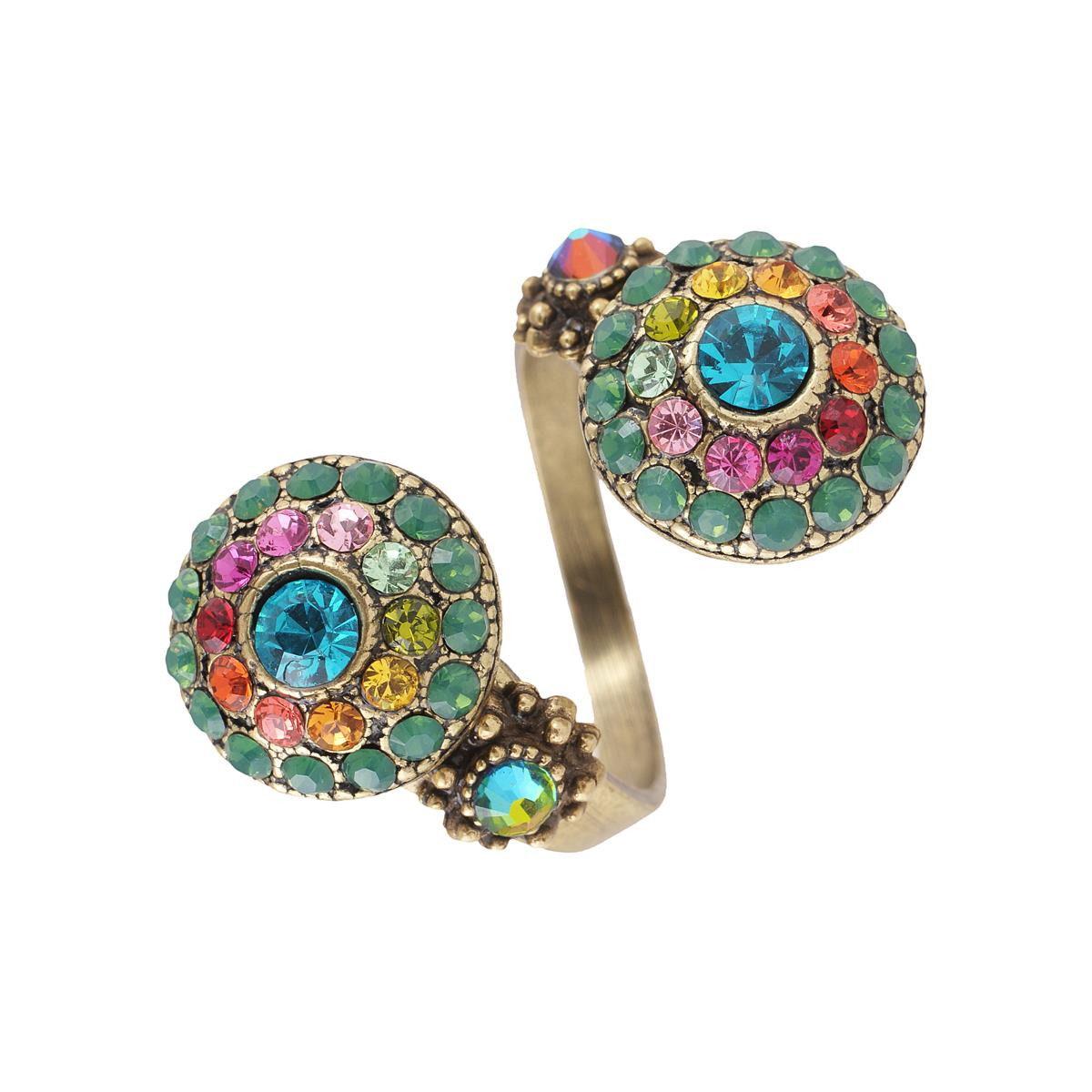 Michal Negrin Spiraling in Colors Ring