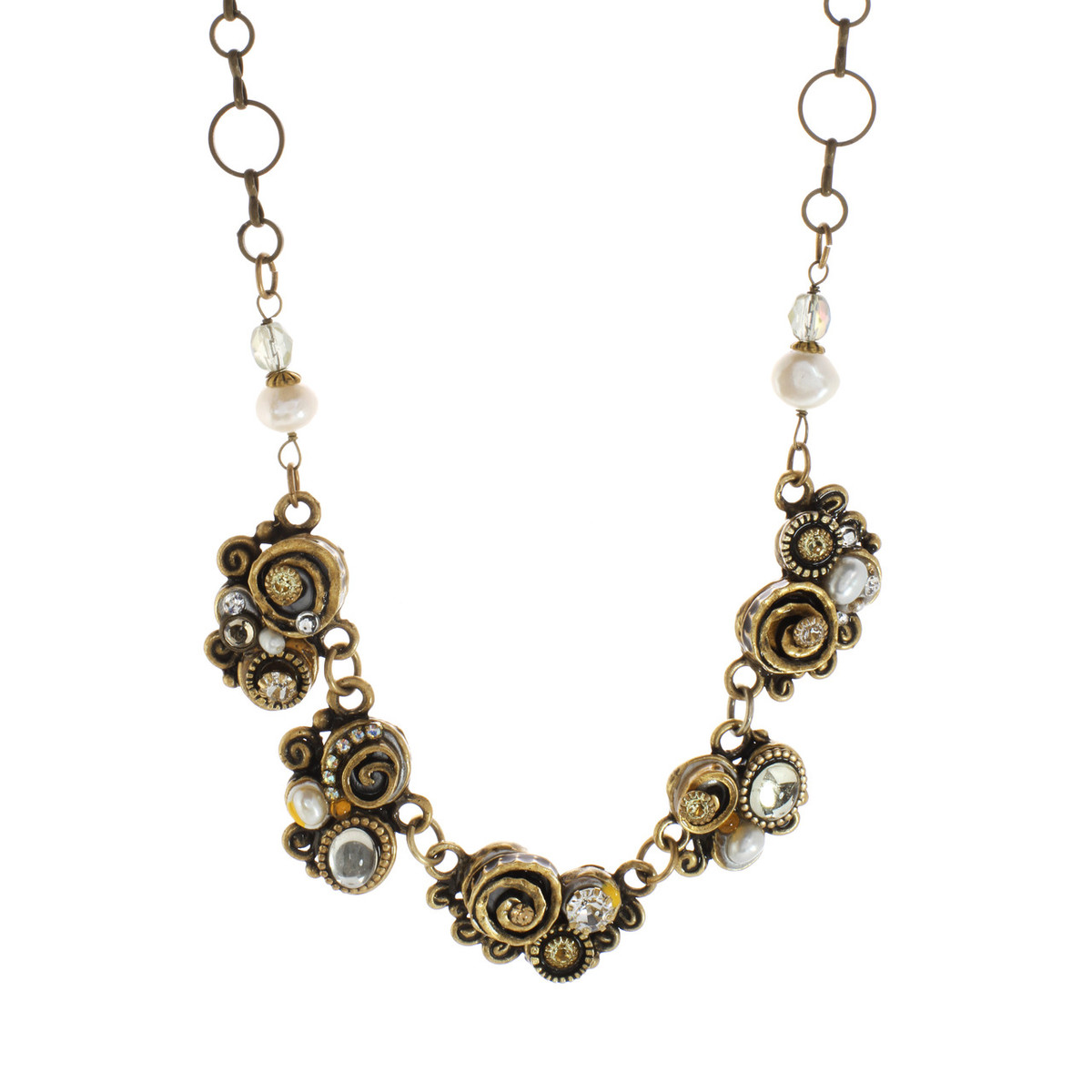 Michal Golan Necklace Five Piece Swirl