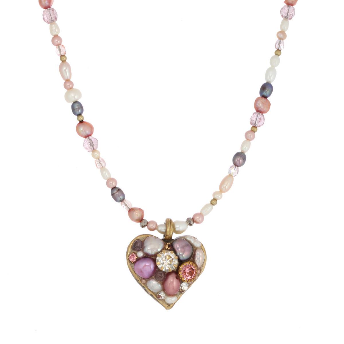 Michal Golan Heart Pendant Necklace