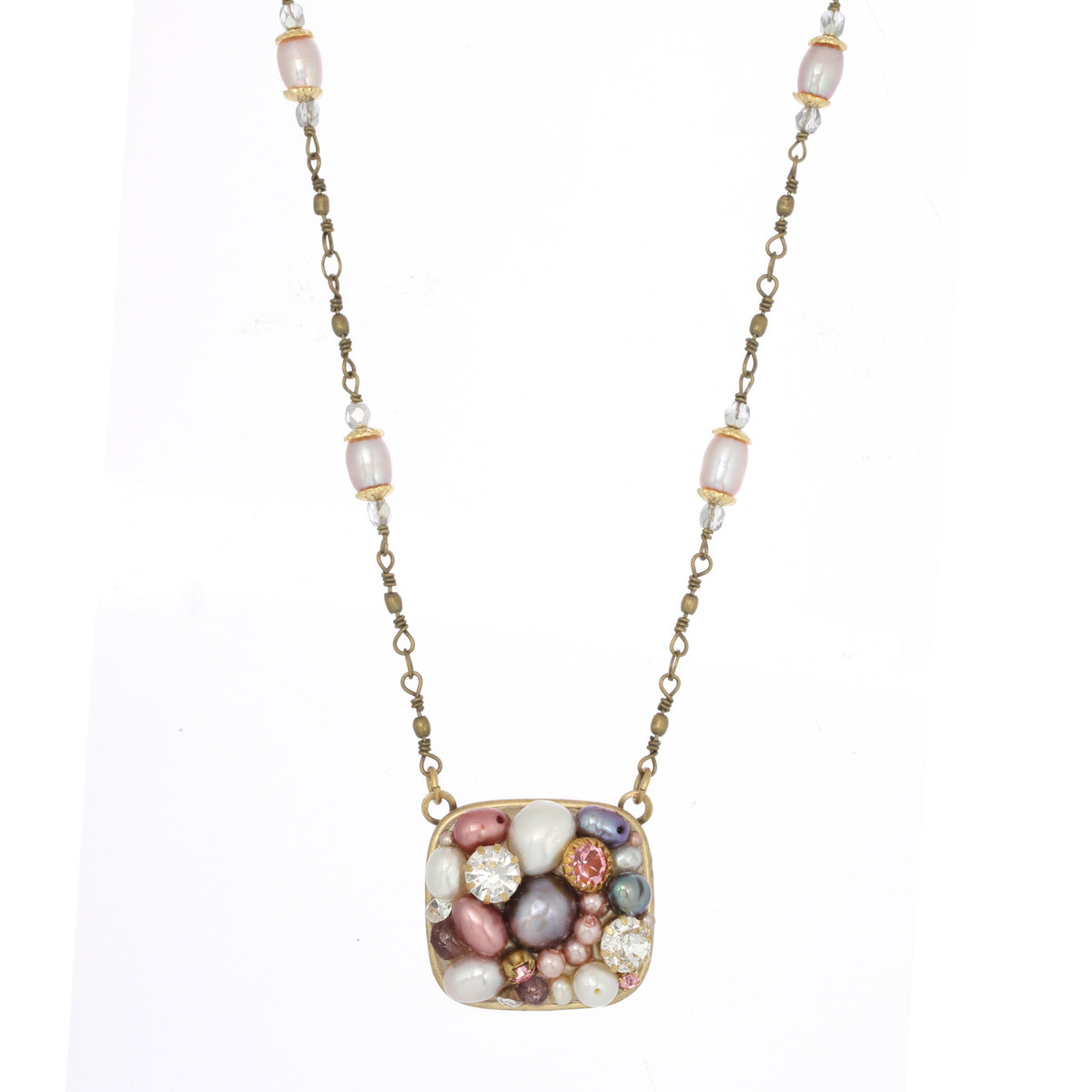 Medium Square necklace from Michal Golan Jewelry