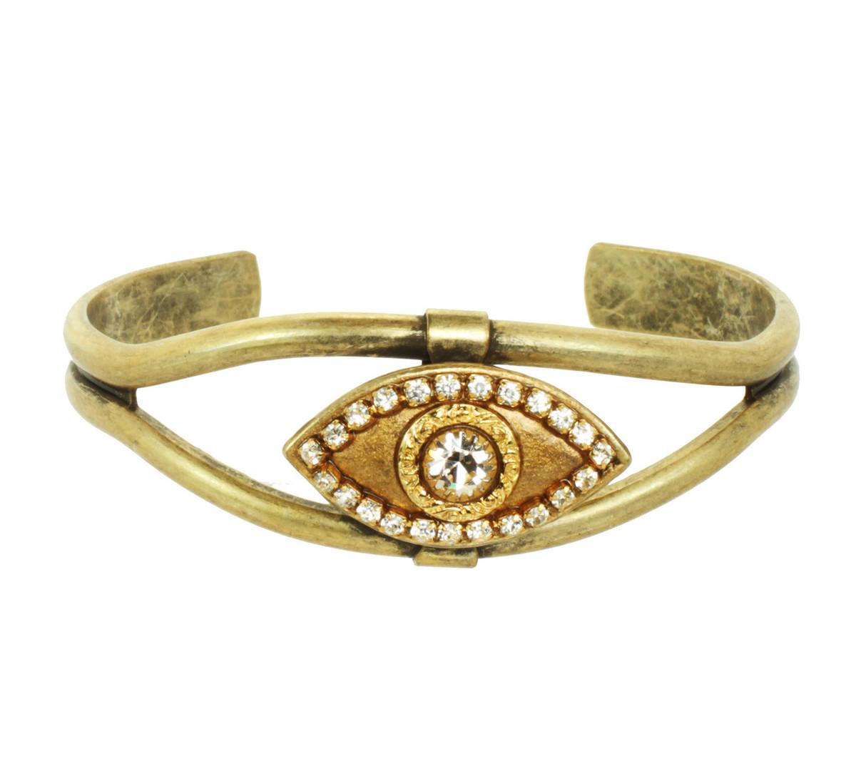 Gold Medium Cuff bracelet from Michal Golan Jewelry
