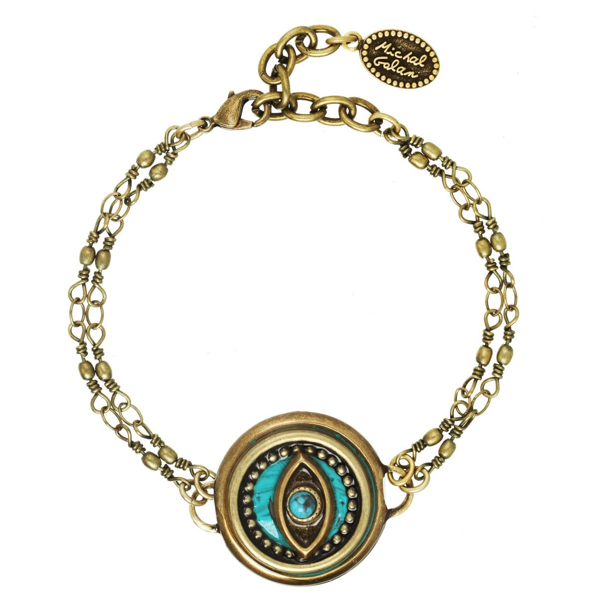 Michal Golan Bracelet Evil Eye Chain