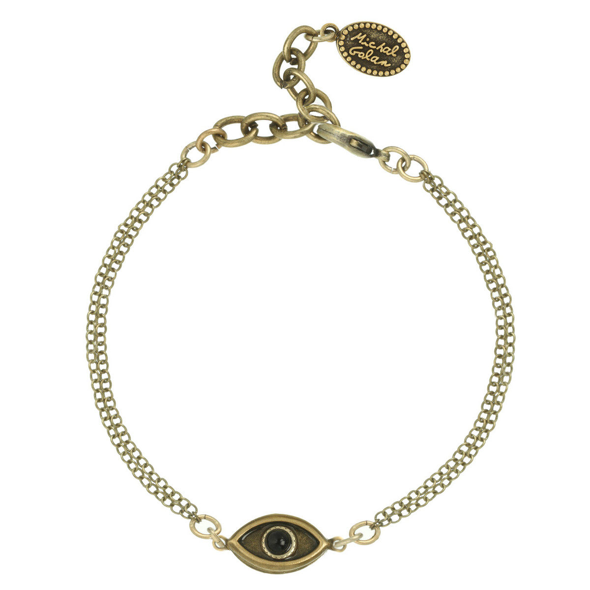 Evil Eye with Onyx Center bracelet from Michal Golan Jewelry