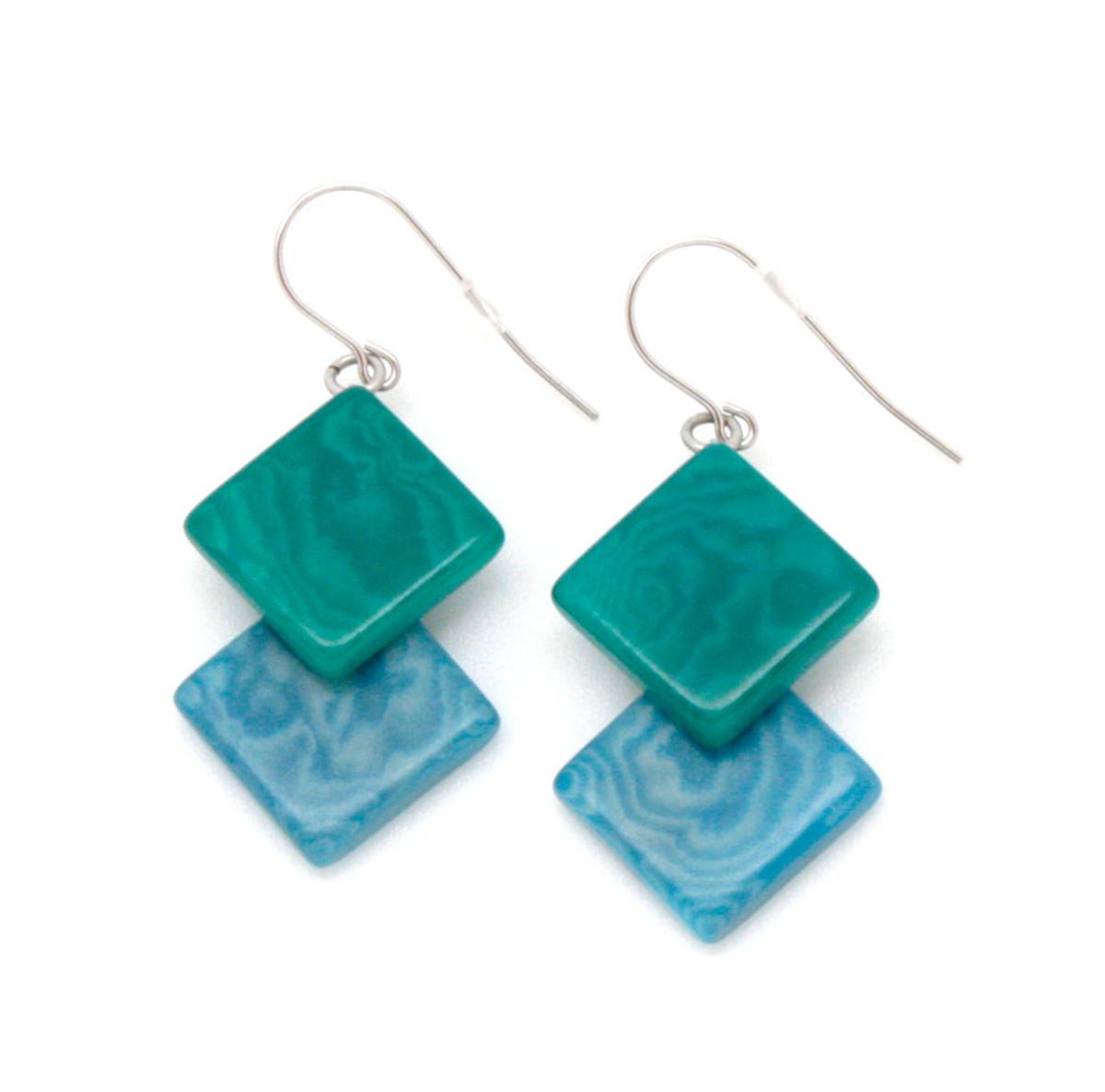 Encanto Amelia Green Sea Earrings