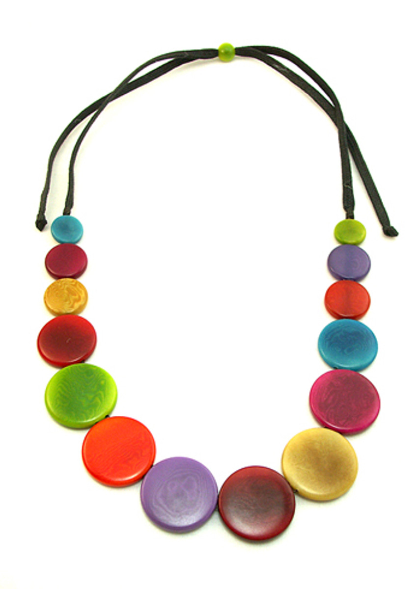 Encanto Jewelry Ashpa Multicolor Necklace
